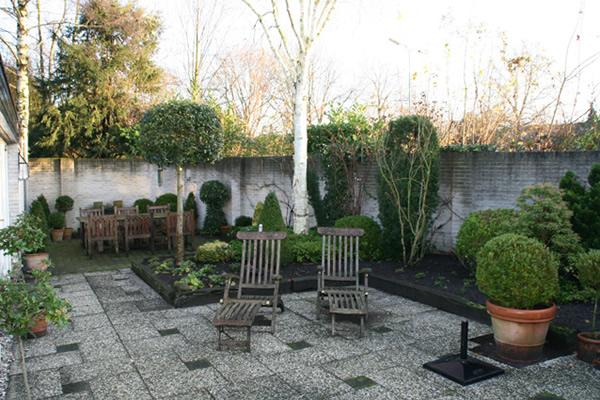 Gardens by teus timmer ontwerp aanleg en onderhoud van exclusieve tuinen - Luifel ontwerp voor patio ...